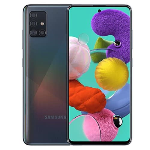 Samsung Galaxy A71 Prism Crush Black