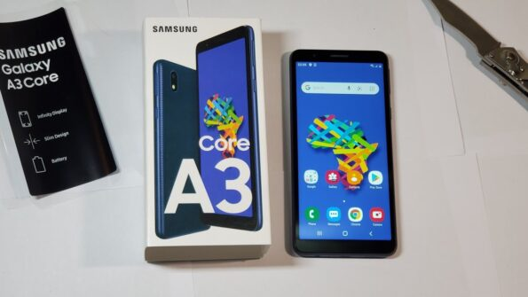 Samsung galaxy A3 core pack