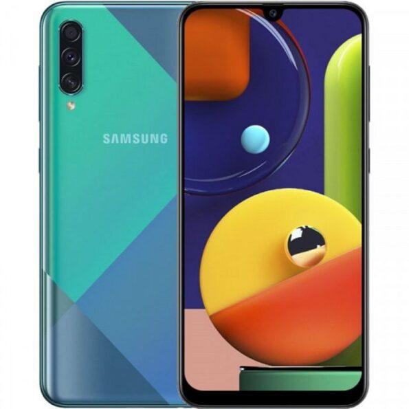 Samsung galaxy A50s Blue